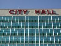 City Hall New orleans Letters